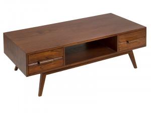 Masuta cu sertare din lemn mindi 60x120 cm Miami Santiago Pons