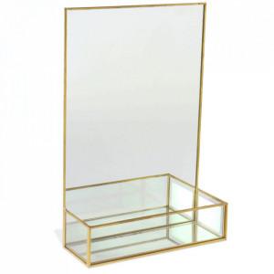 Oglinda aurie din metal 20x30 cm Intemporal Opjet Paris