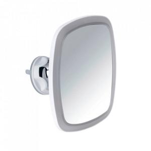 Oglinda cosmetica dreptunghiulara cu LED alba din plastic 17x20 cm Nurri Wenko