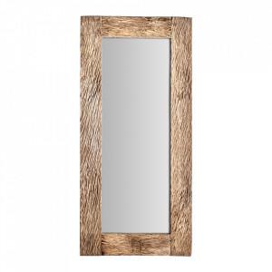 Oglinda dreptunghiulara maro din lemn 70x150 cm Eva Vical Home