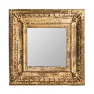 Oglinda patrata din MDF si fier 60x60 cm Milvignes Alle Vical Home
