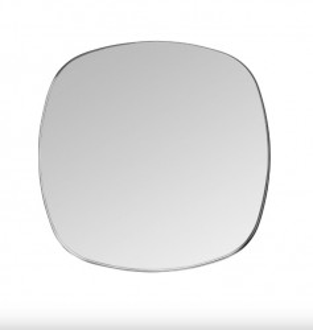 Oglinda patrata neagra din alama 70x70 cm Dobles Black Medium Versmissen