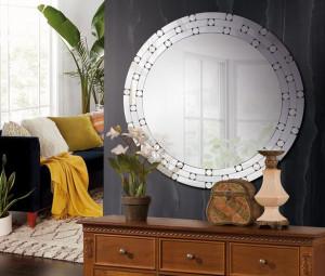 Oglinda rotunda din sticla 80 cm Yoka Giner y Colomer