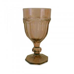 Pahar maro chihlimbar din sticla 7,7x14,6 cm Shivali Opjet Paris