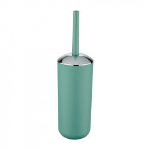 Perie verde/argintie din elastomer termoplastic pentru toaleta Saburo Wenko