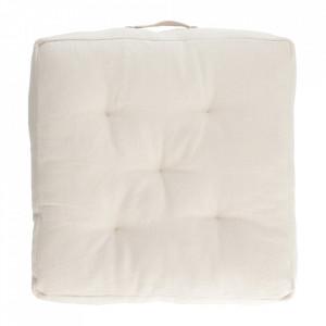Perna de podea alba din bumbac 60x60 cm Sarit Kave Home