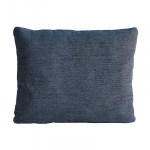 Perna decorativa dreptunghiulara albastra din textil 53x61 cm Canvas Woud
