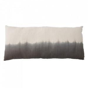 Perna decorativa dreptunghiulara gri din bumbac 70x150 cm Nature Bloomingville