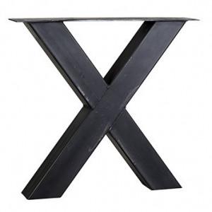 Picior negru din fier pentru masa Industrial Shape Richmond Interiors