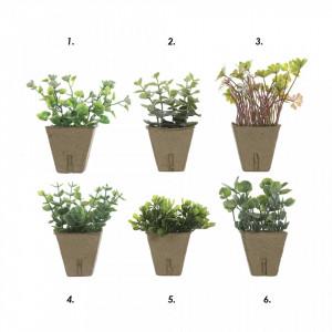 Planta artificiala cu ghiveci 13 cm Trova Bloomingville