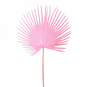 Planta artificiala roz din fier si plastic 152 cm Palm Pols Potten