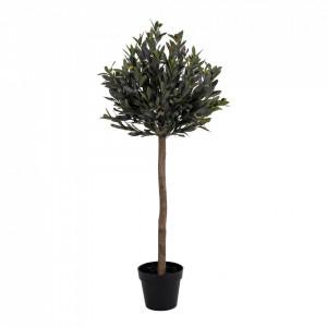 Planta artificiala verde din plastic 126 cm Olive House Nordic