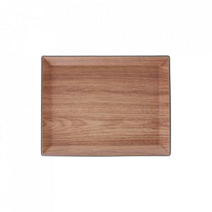 Platou maro din plastic si polistiren 23x29,5 cm Buffet Aerts