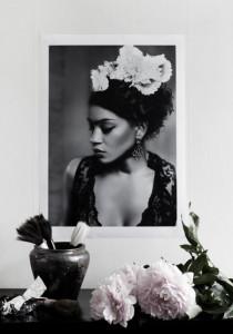 Poster 70x50 cm Frida Love Warriors