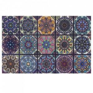 Pres multicolor dreptunghiular pentru intrare din polipropilena 45x70 cm Lisbon The Home
