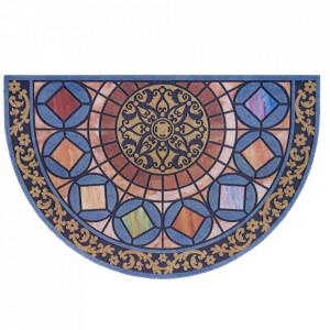 Pres multicolor oval pentru intrare din polipropilena 45x70 cm Odessa The Home