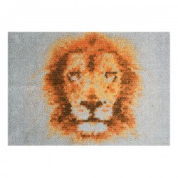 Pres pentru intrare 70x50 cm StateMat King Of Animals  Mint Rugs