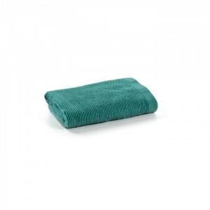 Prosop albastru turcoaz din bumbac 50x100 cm Miekki La Forma