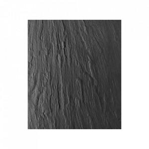 Protectie gri carbune din sticla pentru perete 60x70 cm Wall Tiles Slate Wenko