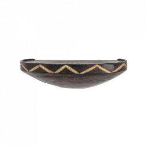 Raft maro din lemn de mango 33 cm Nature Creative Collection