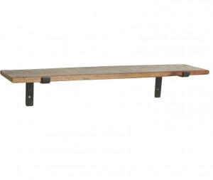 Raft maro din lemn reciclat 80 cm Stella Raw Materials