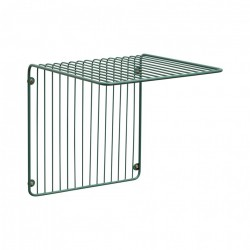 Raft verde din metal 31 cm Wall Large Hubsch