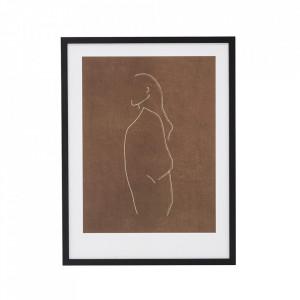 Rama foto neagra din lemn 32x42 cm Jenny Bloomingville