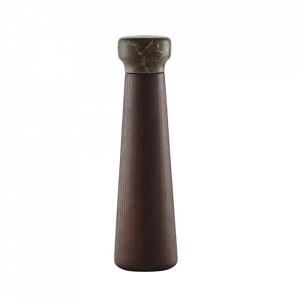 Rasnita manuala pentru sare si piper maro din lemn Craft Normann Copenhagen