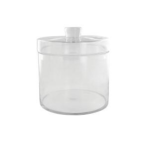 Recipient cu capac transparent din sticla 20x22 cm Bo LifeStyle Home Collection
