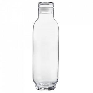 Recipient cu capac transparent din sticla 8x27,5 cm Taper Bolia