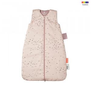 Sac de dormit roz din bumbac si poliester pentru copii Dreamy Dots Done by Deer