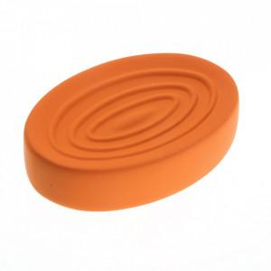 Savoniera portocalie din ceramica 9x13 cm Julio Versa Home