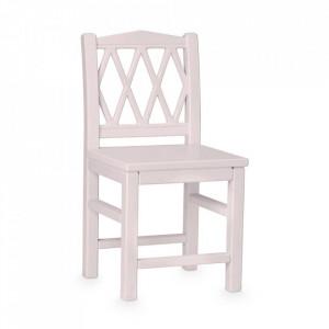 Scaun roz din MDF si lemn Harlequin Cam Cam