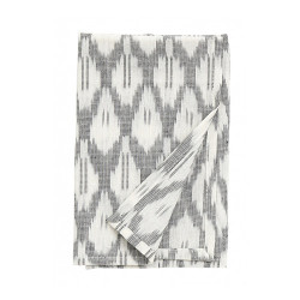 Servetel negru/alb din bumbac 40x40 cm Victorine Nordal