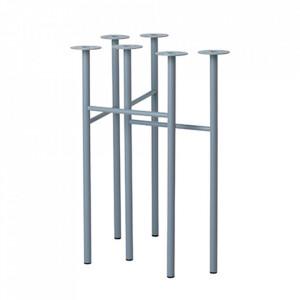 Set 2 picioare din metal pentru masa Mingle Dusty Blue Ferm Living