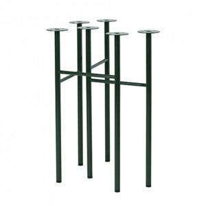 Set 2 picioare din metal pentru masa Mingle Green Ferm Living
