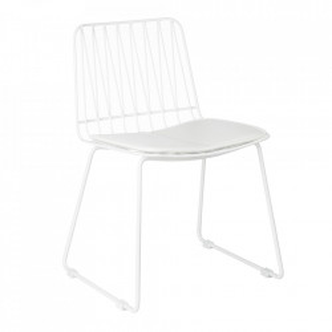 Set 2 scaune albe din metal Hippy Kids Depot