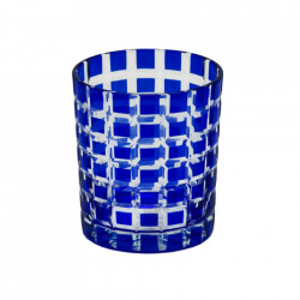 Set 4 pahare albastre din sticla Marco Edzard