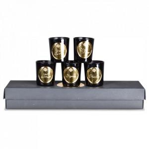 Set 5 lumanari parfumate 7 cm Essentiels Opjet Paris
