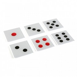Set 6 coastere multicolore din sticla Dice Versa Home