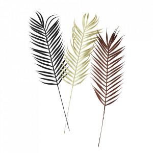 Set 6 plante artificiale multicolore din plastic Ivy Glitter Leaves Madam Stoltz