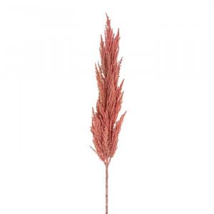 Set 6 plante artificiale roz din plastic si metal 117 cm Frond Richmond Interiors