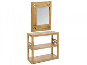 Set consola din lemn si oglinda Ios Santiago Pons