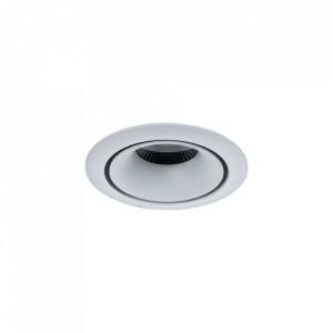 Spot alb din aluminiu cu LED Downlight Yin Round Maytoni