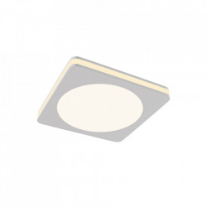 Spot alb din aluminiu cu LED Square Big Phanton Maytoni