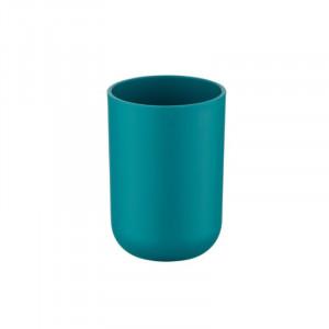 Suport albastru petrol din elastomer termoplastic pentru periuta dinti 7,3x10,3 cm Brasil Wenko