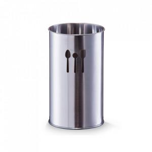 Suport argintiu din inox pentru ustensile bucatarie Juls Zeller