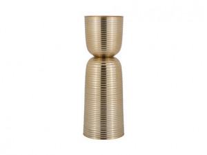 Suport auriu din aluminiu pentru lumanare 33 cm Jenyd Richmond Interiors