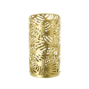 Suport lumanare auriu din fier 17 cm Ada Unimasa