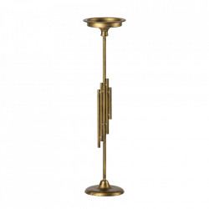 Suport lumanare auriu din fier 52 cm Luminary Be Pure Home